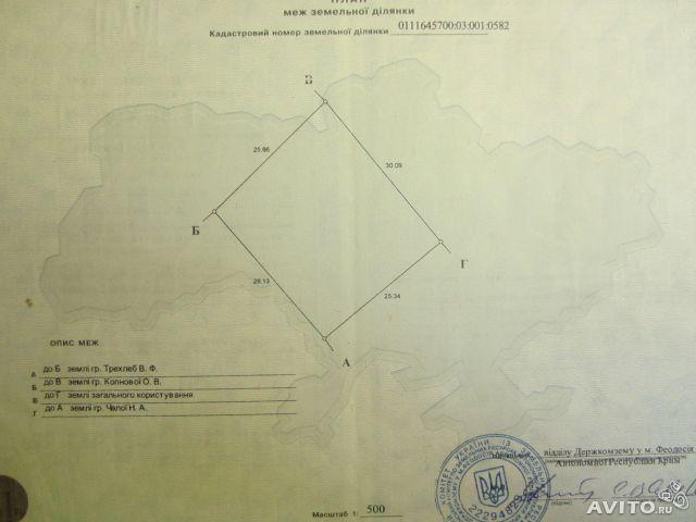 пгт Коктебель, ул. СОТ Коктебель, участок, 7.5 сот, Продажа