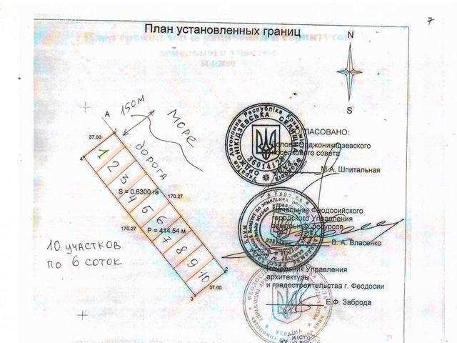 пгт Орджоникидзе, ул Ленина, участок 6 соток, ИЖС, продажа