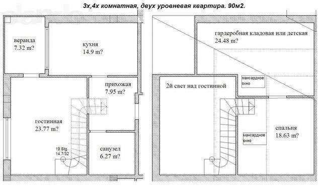г Феодосия, ул Чкалова, 1 ком. квартира, 74 кв. м