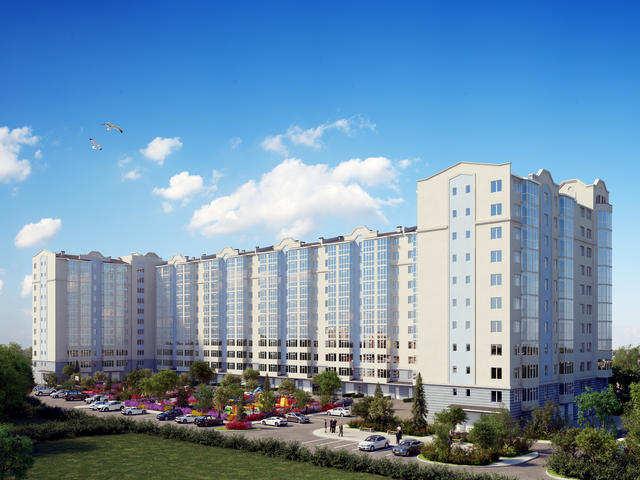 г. Феодосия, Насыпная ул, 2-комнатная квартира в новостройке, 57 кв м, Продажа