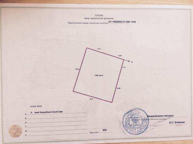 г. Феодосия, Щебетовская ул, участок, 10 сот, Продажа