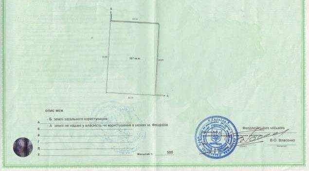 г Феодосия, ул Белогорская, участок 8 соток, ИЖС, продажа