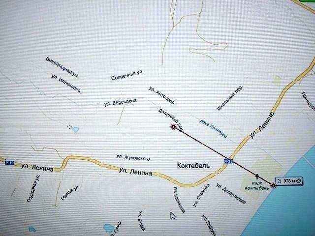 пгт Коктебель, Вересаева ул, участок, 8 сот, Продажа