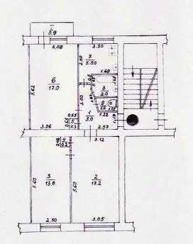 г Феодосия, ул Гарнаева, 3 ком квартира, 62 кв м