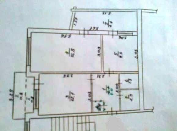 пос Щебетовка. улица Мира, 2 ком квартира, 55 кв метров