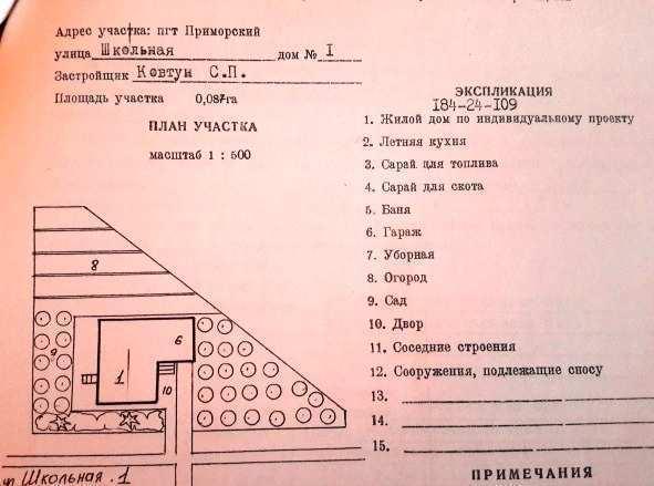 пгт Приморский, ул Школьная, участок 8,6 соток, ИЖС, продажа
