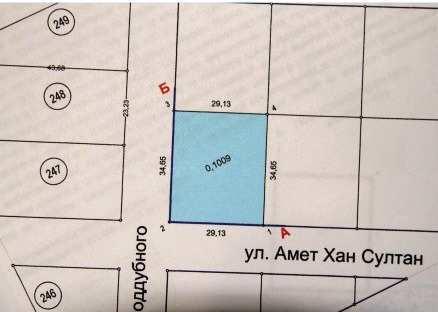пос. Береговое, Амет Хан Султана ул, участок, 10 сот, Продажа
