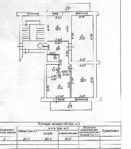 г. Феодосия, Дружбы ул, 3-комнатная квартира, 80 кв м, Продажа