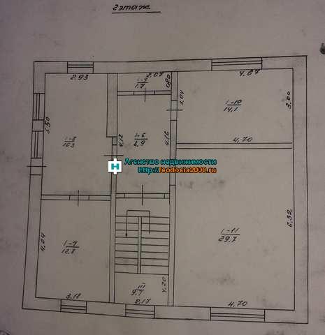 п Советский, Советский р-н, ул Заозёрная, дом 126 кв м, участок 12 соток