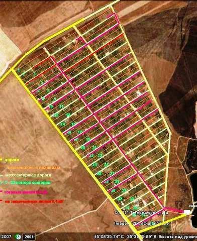 пгт Приморский, СПК Парус, 1 линия, участок 12 соток, садоводчество, продажа.