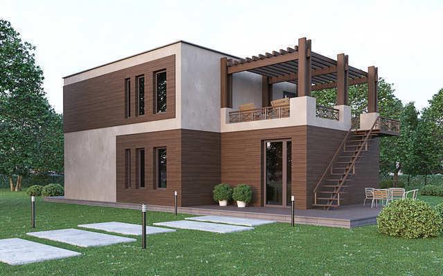 пгт Коктебель, пос. Планерный, дом, 133 кв м, 6 сот, Продажа