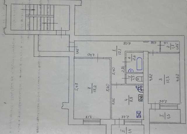 пгт Щебетовка, ул. Луговая, 2 ком. квартира, 58 кв.м.