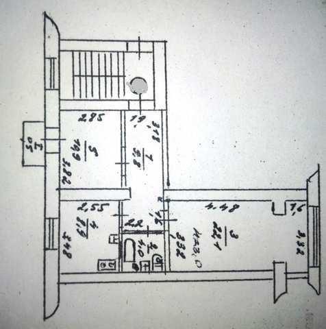 пгт Орджоникидзе, ул. Бондаренко, 2 ком. квартира, 56 кв.м.