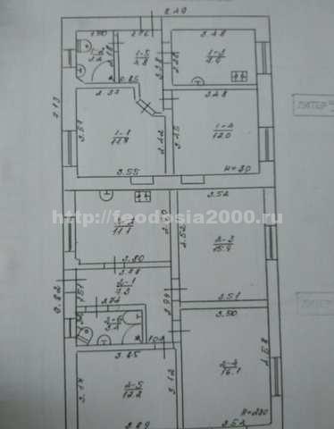 г. Феодосия, Украинская ул, дом, 300 кв м, 4 сот, Продажа