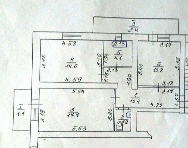 г Феодосия, ул Дружбы, 2 ком квартира 63 кв м, продажа