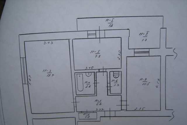 с Золотое Поле, ул Центральная, 2-х ком квартира 50,3 кв м