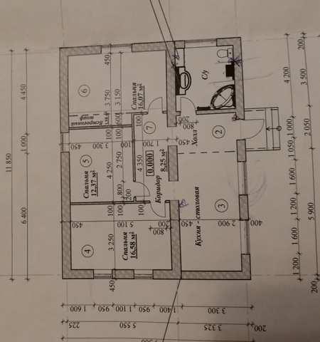 с Ароматное, ул Школьная, дом 110 кв м, участок 25 соток, Продажа