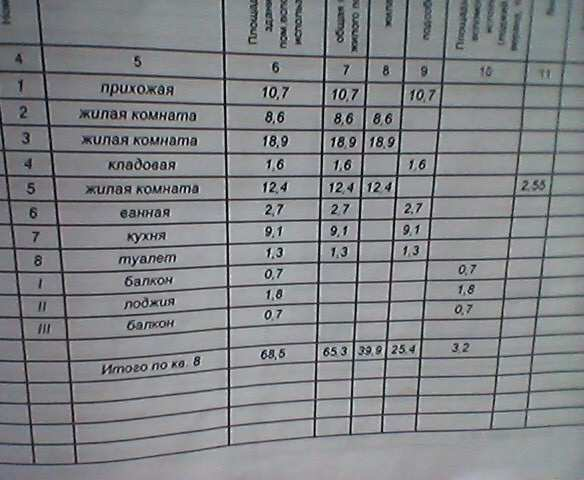г Феодосия, ул Челнокова, 3-х ком квартира 68,5 кв м