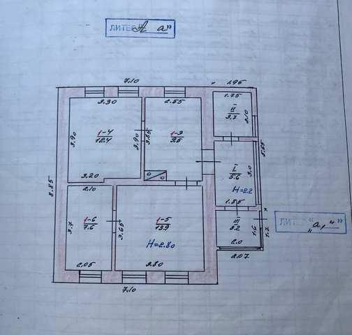 г Феодосия, 3-й Заводской проезд, дом 85 кв м, участок 5,79 сотки, продажа.