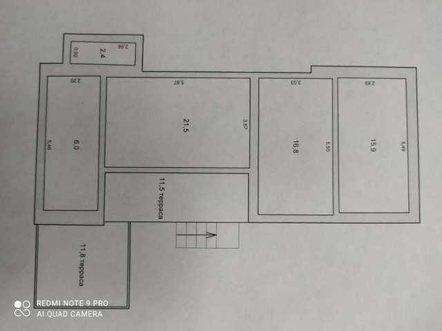 пгт Коктебель, СПК Кипарис, дача 90 кв м, участок 6 соток, дачное, продажа.