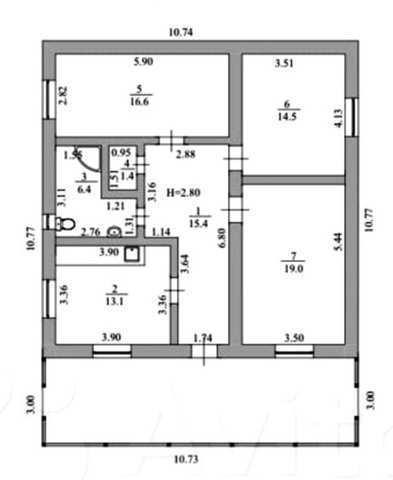 г Феодосия, СПК Маяк, дача 100 кв м, участок 17 соток, дачное, продажа.